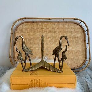 Other - 3/$25 Vintage solid brass bird decor piece